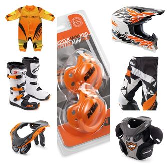 Afbeelding voor categorie Ktm kid equipment