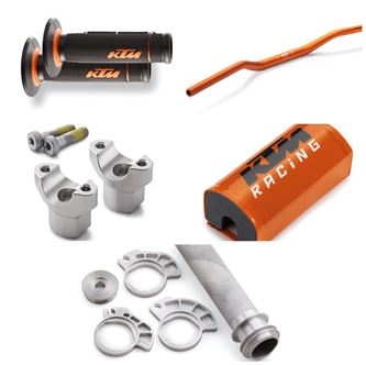 Afbeelding voor categorie KTM Handlebars and support kits
