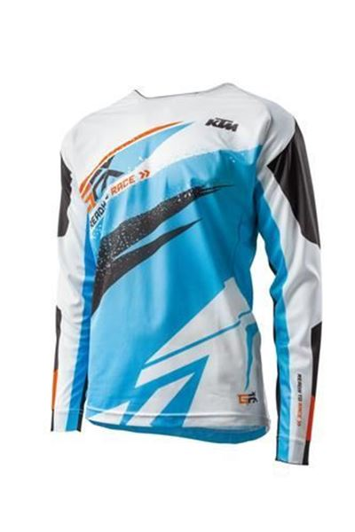 Picture of ktm3PW1923102<>GRAVITY-FX SHIRT BLUE S t/m XXL