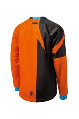 Picture of ktm3PW1924102<>POUNCE SHIRT ORANGE S t/m XXL