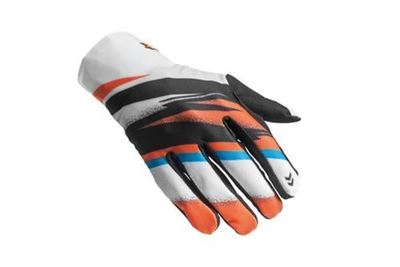 Picture of ktm3PW1927502<>GRAVITY-FX GLOVES BLUE S t/m XXL