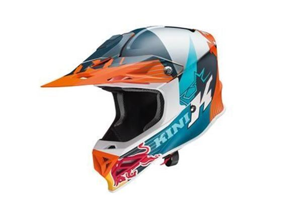 Picture of ktm3L491929101<>KINI RB COMP LIGHT HELMET XS t/m XXL