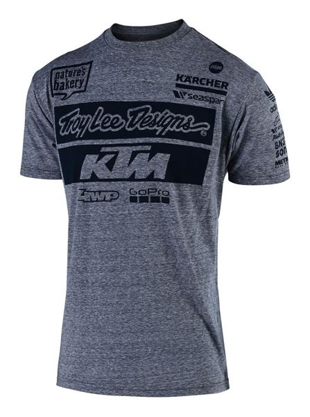 Picture of TLD TEAM TEE GREY