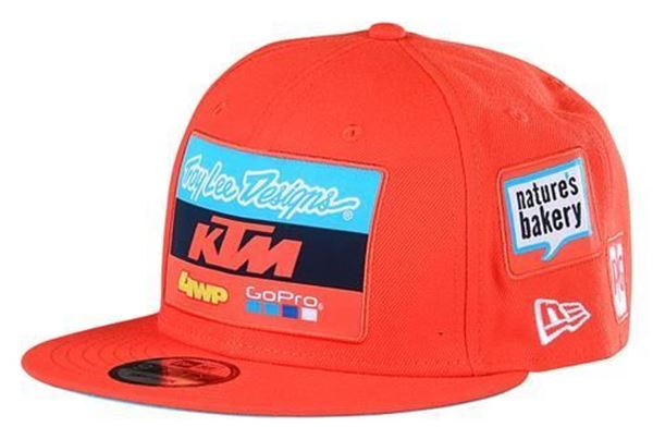 Picture of TLD TEAM HAT ORANGE - 2020