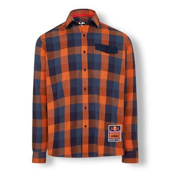 Picture of RB KTM RACING TEAM CHECKED SHIRT - 2020