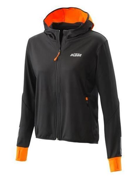 Picture of Ktm Women Emphasis Zip Hoodie - 2020