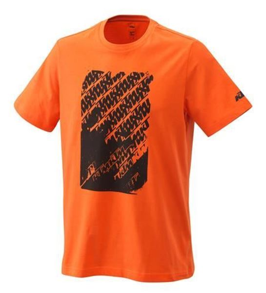 Picture of KTM RADICAL LOGO TEE ORANGE - 2021