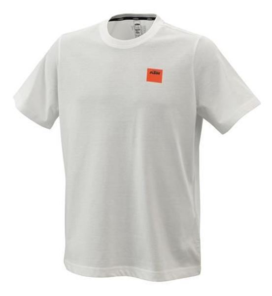 Picture of KTM PURE RACING TEE WHITE - 2021