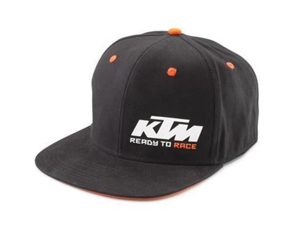 Picture of KTM SNAPBACK CAP BLACK - 2021